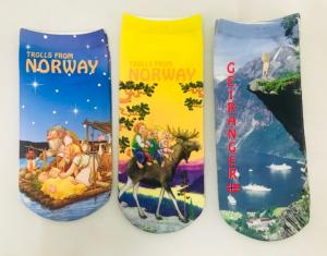 Transfer Printing Socks