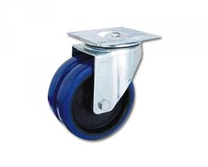 Heavy duty twin wheel caster PD-1205